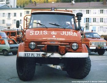 Camion-citerne pour feux de forêts, Sapeurs-pompiers, Jura (39)