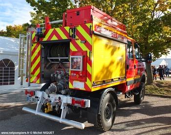 Camion-citerne rural, Sapeurs-pompiers, Maine-et-Loire (49)