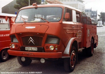 Fourgon-pompe tonne, Sapeurs-pompiers, Ille-et-Vilaine (35)