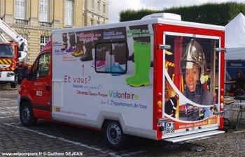 Véhicule d'information du public, Sapeurs-pompiers, Oise (60)