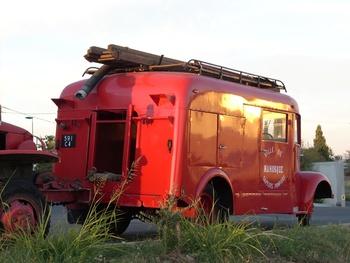 Fourgon d'incendie normalisé, Sapeurs-pompiers, Alpes-de-Haute-Provence (04)