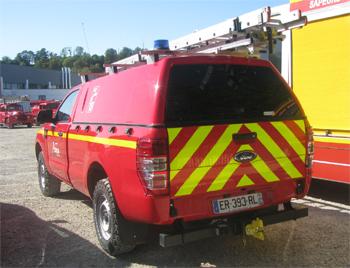 Véhicule pour interventions diverses, Sapeurs-pompiers, Eure-et-Loir (28)