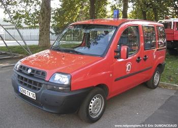 Véhicule de liaison, Sapeurs-pompiers, Charente
