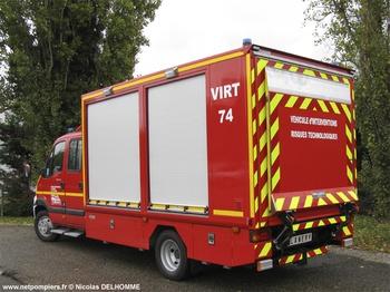 <h2>Véhicule pour interventions à risques technologiques - Annemasse - Haute-Savoie (74)</h2>