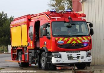 Véhicule pour interventions en milieu ferroviaire, Sapeurs-pompiers, Pyrénées-Orientales (66)