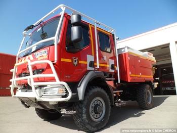 Camion-citerne pour feux de forêts, Sapeurs-pompiers, Hérault