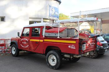 Camion-citerne pour feux de forêts léger, Sapeurs-pompiers, Nièvre (58)