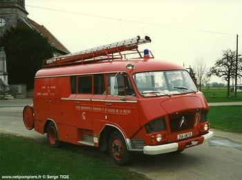 Fourgon d'incendie, Sapeurs-pompiers, Meuse (55)
