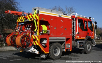 Camion-citerne rural, Sapeurs-pompiers, Creuse (23)