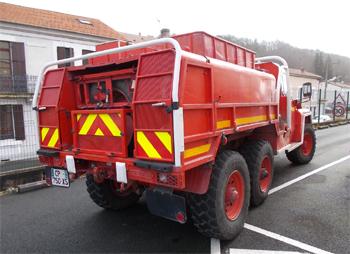 Camion-citerne pour feux de forêts, Sapeurs-pompiers, Dordogne (24)