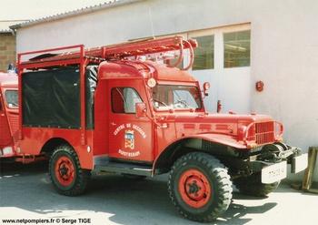 Véhicule de traction, Sapeurs-pompiers, Calvados (14)