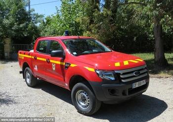 Véhicule de liaison, Sapeurs-pompiers, Hérault (34)