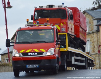 Véhicule tracteur, Sapeurs-pompiers, Manche (50)
