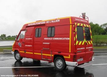 Véhicule d'information du public, Sapeurs-pompiers, Allier (03)