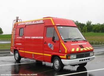 Véhicule d'information du public, Sapeurs-pompiers, Allier