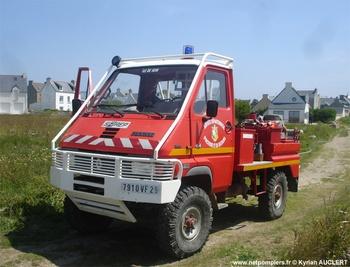 Véhicule de première intervention, Sapeurs-pompiers, Finistère (29)