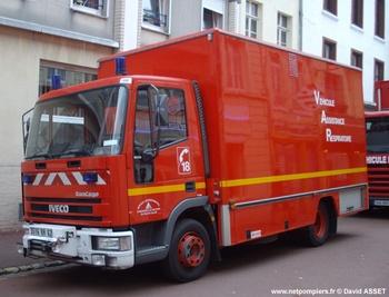 Véhicule  d'assistance respiratoire, Sapeurs-pompiers, Pas-de-Calais (62)