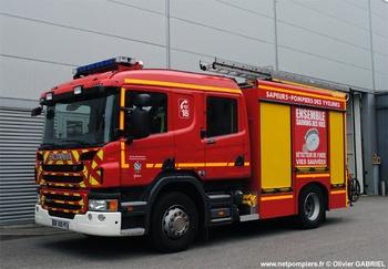 <h2>Fourgon-pompe tonne - Poissy - Yvelines (78)</h2>
