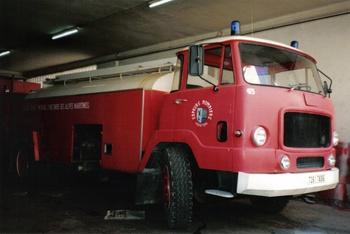Camion-citerne de grande capacité, Sapeurs-pompiers, Alpes-Maritimes (06)