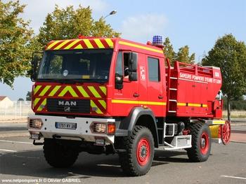 Camion-citerne rural, Sapeurs-pompiers, Eure-et-Loir (28)