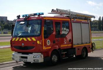 Fourgon-pompe tonne léger, Sapeurs-pompiers, Somme