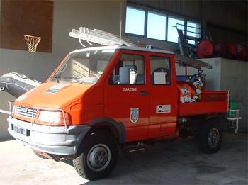 Véhicule de première intervention, Sapeurs-pompiers, Corse-du-Sud (2A)