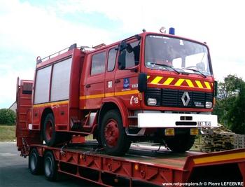 Fourgon-pompe tonne, Sapeurs-pompiers, Loiret (45)