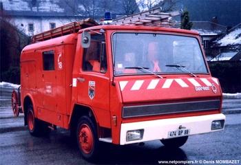 <h2>Véhicule de première intervention - Allarmont - Vosges (88)</h2>