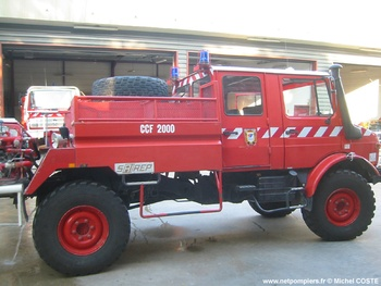 Camion-citerne pour feux de forêts, Sapeurs-pompiers, Hérault (34)