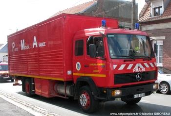 Véhicule poste médical avancé, Sapeurs-pompiers, Somme