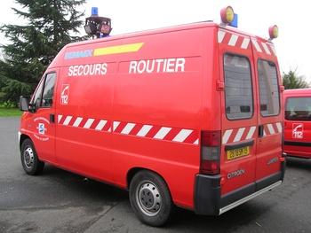 <h2>Véhicule de secours routier - Thouars - Deux-Sèvres (79)</h2>