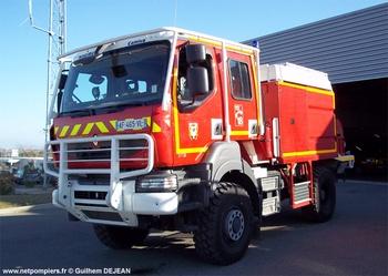 <h2>Camion-citerne pour feux de forêts - Sérignan - Hérault (34)</h2>