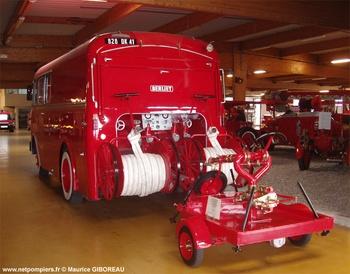 Fourgon-pompe dévidoir de grande puissance, Sapeurs-pompiers, Loir-et-Cher (41)