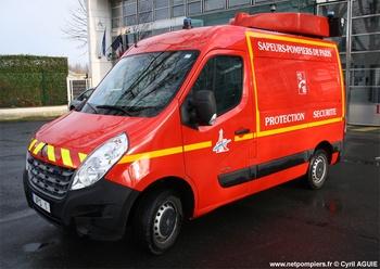 Véhicule de protection et de sécurité, Sapeurs-pompiers de Paris,  ()