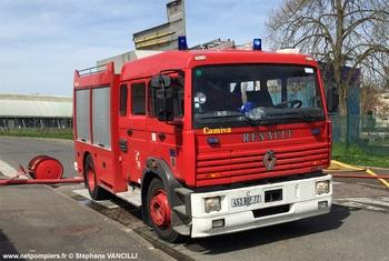 Fourgon-pompe tonne, Sapeurs-pompiers, Seine-et-Marne