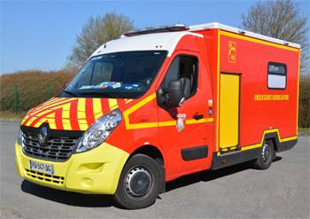 Véhicule de secours et d'assistance aux victimes, Sapeurs-pompiers, Eure (27)