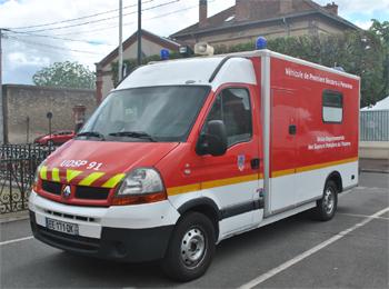 <h2>Véhicule de secours et d'assistance aux victimes - Essonne (91)</h2>