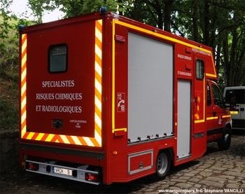 Véhicule radiologique et chimique, Sapeurs-pompiers de Paris,  ()
