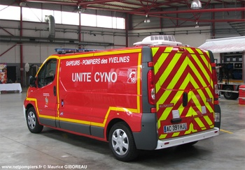 <h2>Véhicule pour interventions cynotechniques - Chatou - Yvelines (78)</h2>
