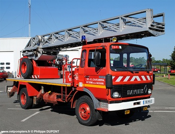 Echelle pivotante, Sapeurs-pompiers, Hautes-Pyrénées (65)