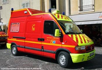 Véhicule de protection routière, Sapeurs-pompiers, Meurthe-et-Moselle (54)
