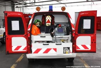 Véhicule radio médicalisé, Sapeurs-pompiers, Yvelines (78)