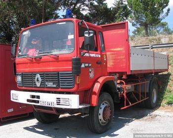 Véhicule porte-cellule, Sapeurs-pompiers, Var (83)