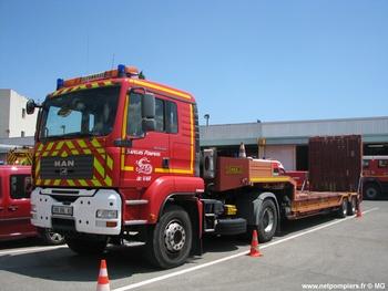 Véhicule tracteur, Sapeurs-pompiers, Var (83)