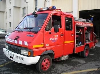 Véhicule de secours routier, Sapeurs-pompiers, Loire-Atlantique