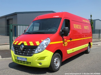 Véhicule de logistique, Sapeurs-pompiers, Var (83)