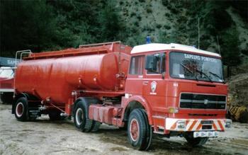 Véhicule tracteur, Sapeurs-pompiers, Alpes-Maritimes (06)