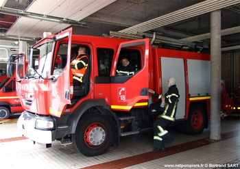 Fourgon-pompe tonne, Sapeurs-pompiers, Pas-de-Calais (62)
