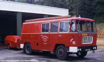 <h2>Fourgon d'incendie - Sarlat - Dordogne (24)</h2>