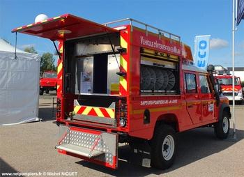 Véhicule pour interventions en milieu périlleux, Sapeurs-pompiers, Loire (42)
